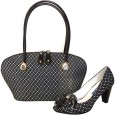 2010, B9103 Gilda Tonelli set of branded bag and shoes, size 38,39
