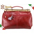 2974 Italy red travel Leather Bag Tonelli Uomo
