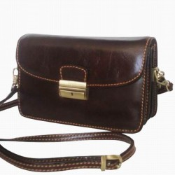 Gilda Tonelli little bag 2080 BROWN ADVENTURE