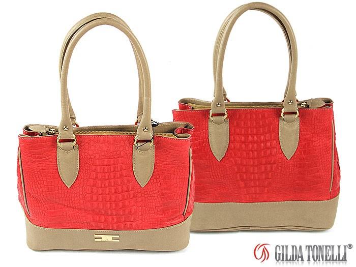 1486 Italian handbag Gilda Tonelli Giada Rosso   Archives ...